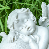 居眠りする天使
